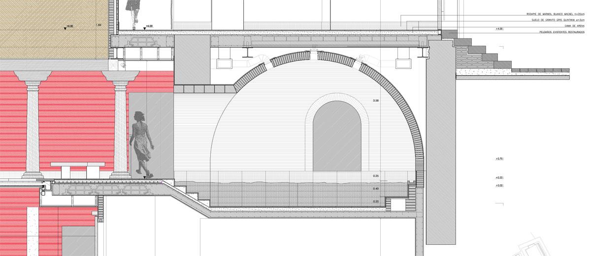 Baño Arabe En Toledo:Rehabilitación de Edificio para Baños Árabes  TASH