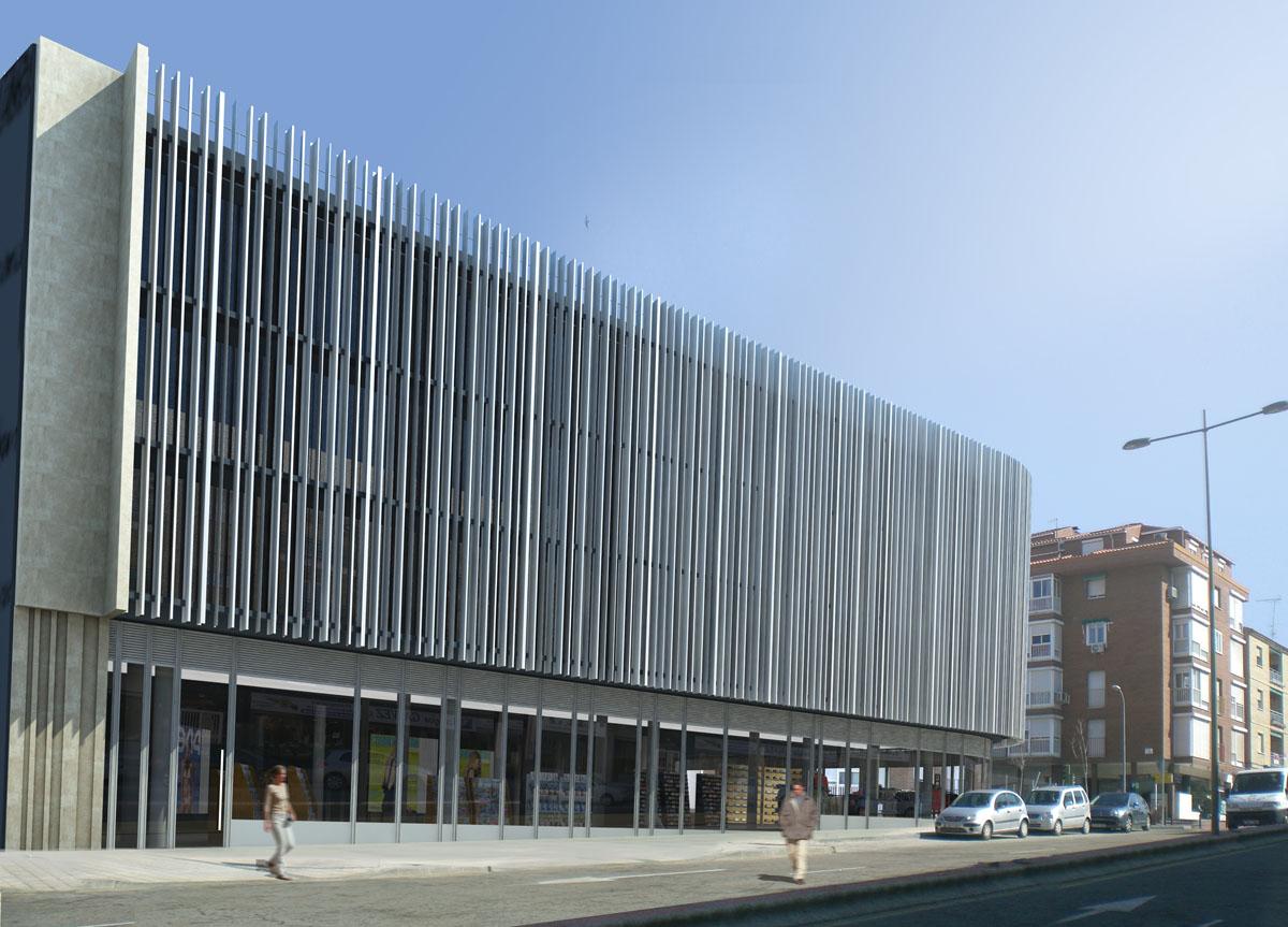 Fachadas edificios modernos best edificios modernos con for Edificio oficinas